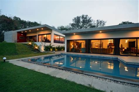 stunning single floor home designs ideas luxury home surrounded by in india