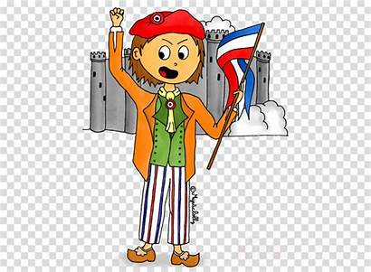 Cartoon Clipart Revolution French France Histoire Transparent
