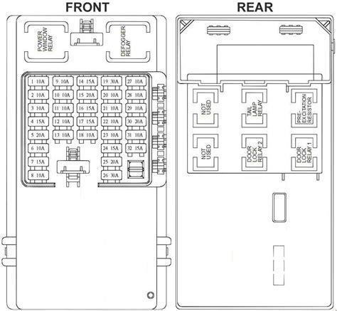 Hyundai Trajet Fuse Box Diagram Auto Genius