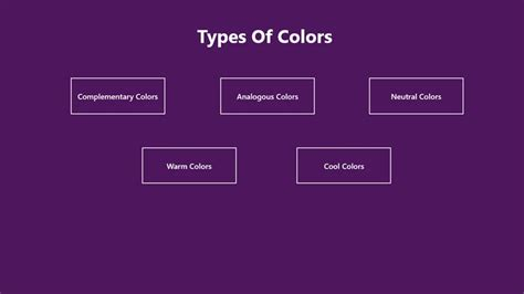 color types types of colors for windows 8 and 8 1