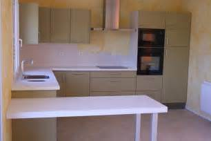 faberk maison design table de cuisine avec plan de travail