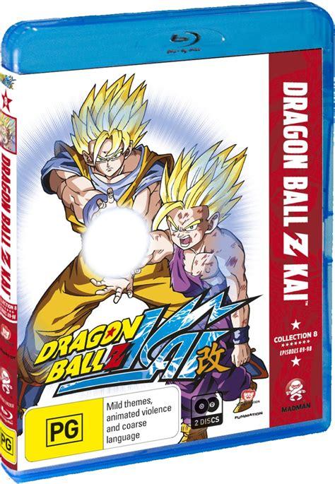 Dragon ball z kai dvd vs blu ray. Dragon Ball Z Kai - Collection 8   Blu-ray   Buy Now   at ...