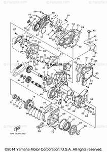 Yamaha Motorcycle 2004 Oem Parts Diagram For Middle Drive