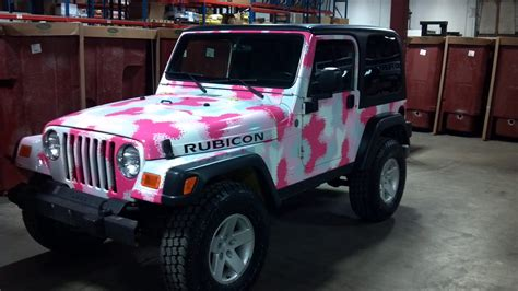pink camo jeep pink jeep rubicon forever pink pinterest