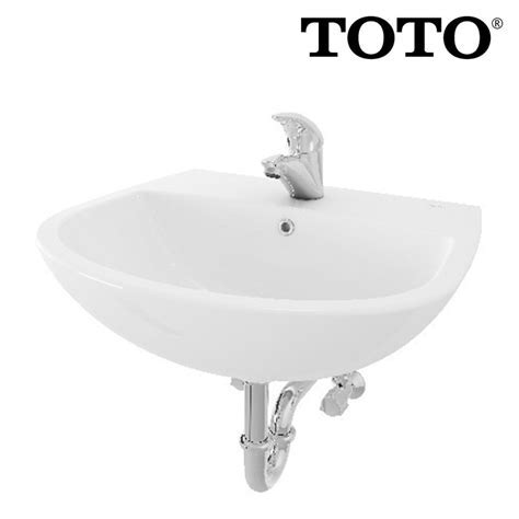 Wastafel Toto LW 247 CJ   Toko Online Perlengkapan Kamar