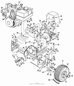 Mtd Sears Craftsman Mdl 247 886700 Parts Diagram For Parts
