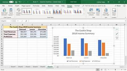 Column Chart Excel Steps Following Tools