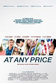 [out] At Any Price On Netflix, Redbox  Dvd Release Date
