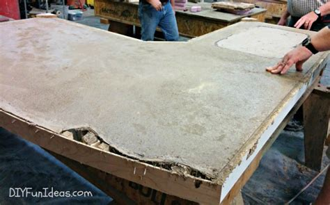 how to make concrete countertop grouting and sealing diy concrete countertops