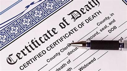 Certificate Death Pen Certificates Obtaining Copies Deaths