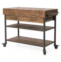 iron kitchen island kershaw rustic chunky reclaimed wood iron drawer kitchen island cart kathy kuo home