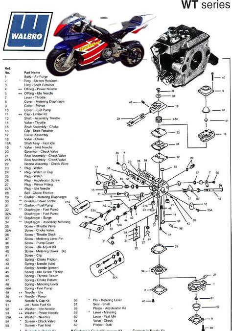 Two Cycle Carburetor Diagram by Walbro Wt Carburetor Diagrams Car Interior Design