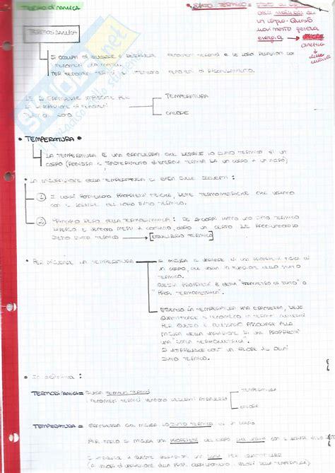 dispense di fisica generale termodinamica appunti di fisica i