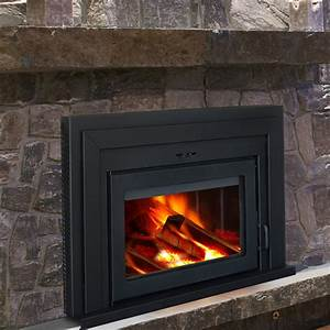 Supreme Fireplaces Inc  Fusion Wall Mount Wood Burning