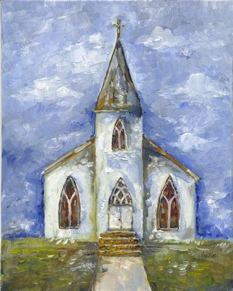 Church Painting 35 Birthday Wishlist D Pinterest