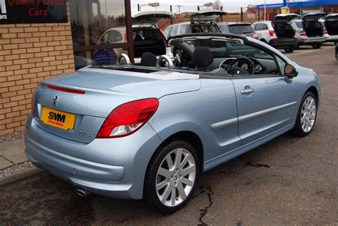 Peugeot 207 Convertible by Used 2009 Peugeot 207 Cc Gt Hdi Convertible For Sale In