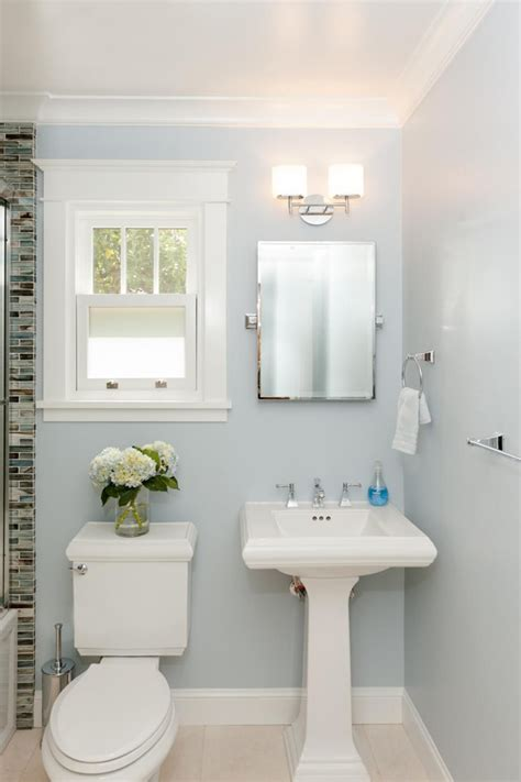 bathroom pedestal sink ideas this bathroom keeps it minimalistic with a serene wall