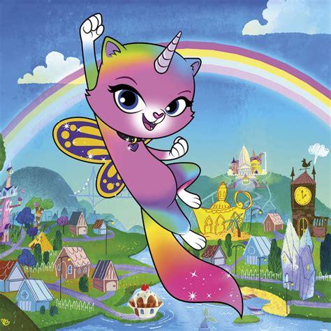 "Show Of The Week ""rainbow Butterfly Unicorn Kitty"" Tbi"