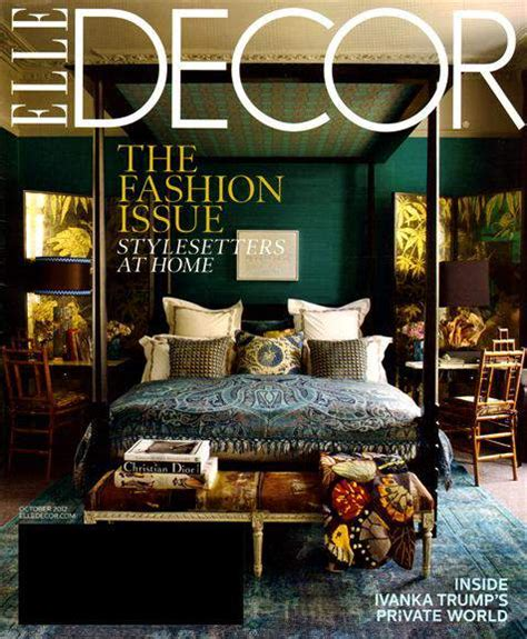 elle decor magazine   year frugal family home