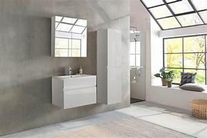 Badezimmermöbel Weiß Hochglanz : sam badezimmerm bel parma 3tlg wei hochglanz 80 cm demn chst ~ Frokenaadalensverden.com Haus und Dekorationen