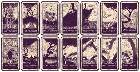 light visions tarot deck james  eads illustration design