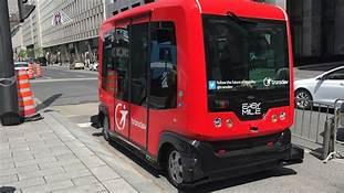 Autonomous Shuttles Begin Passenger Service in Montréal…
