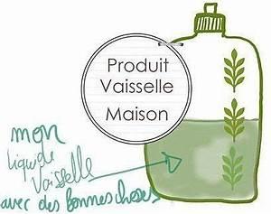 Faire Son Produit Lave Vaisselle : faire son liquide vaisselle bio maison fait maison diy ~ Nature-et-papiers.com Idées de Décoration