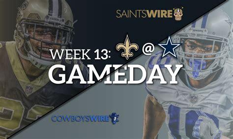 cowboys saints week  latest odds    stream