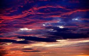 Sky background beautiful red clouds sunset HD Wallpapers ...