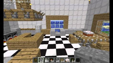 Kitchen Ideas For Minecraft - minecraft kitchen design and ideas youtube