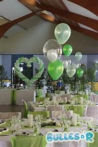 Deco Vert Anis : decoration de table mariage blanc et vert anis id es et ~ Teatrodelosmanantiales.com Idées de Décoration