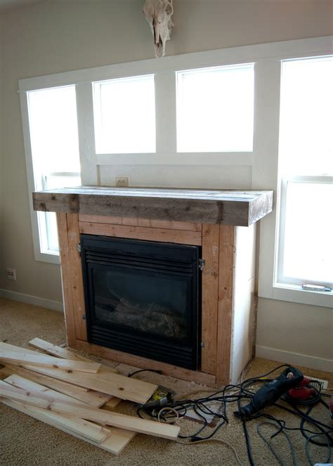 fireplace makeover  final reveal averie lane