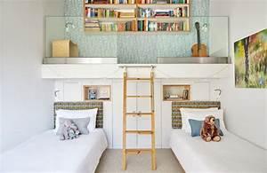 Möbel Für Kleine Kinderzimmer : kleine kinderzimmer einrichten tipps f r stauraum und ~ Michelbontemps.com Haus und Dekorationen