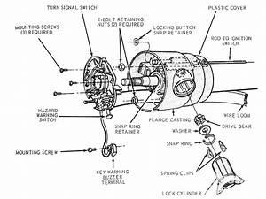 Mump 1012 03  Ford Mustang Locking Steering Columns