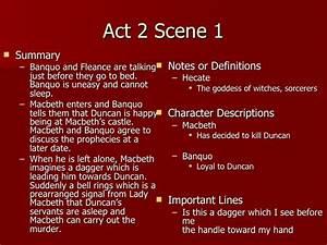 Macbeth Act 2 N... Macbeth Summary