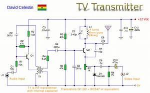 Tv Transmitter Circuit Diagram