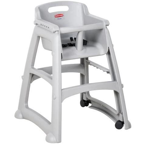 rubbermaid fg780508plat platinum sturdy chair restaurant