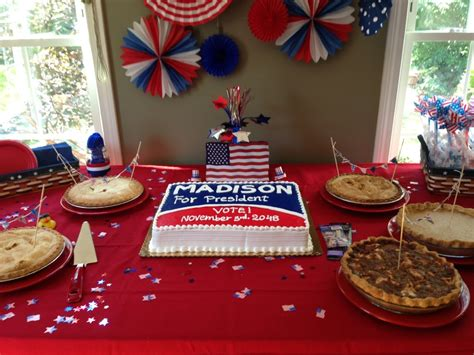 madisons presidential  birthday party project nursery