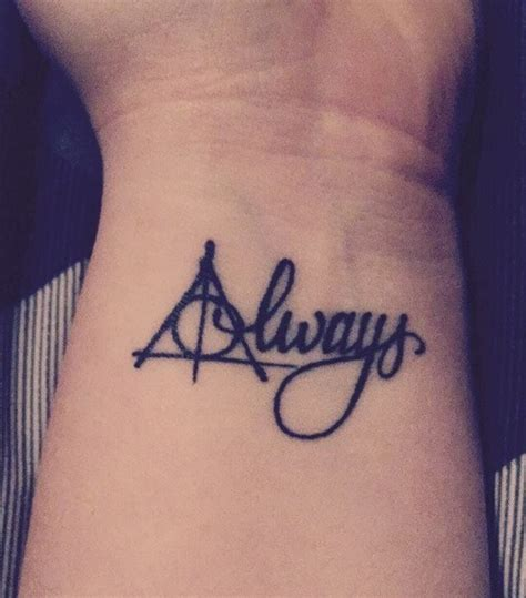 harry potter quote tattoo tumblr