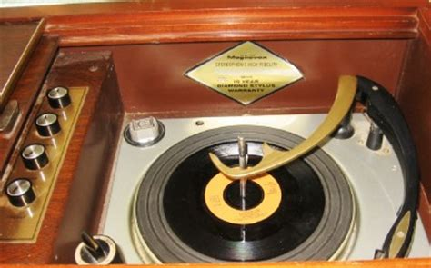 Magnavox Record Player Cabinet Models by Mid Century Modern Walnut Magnavox Micromatic Stereo