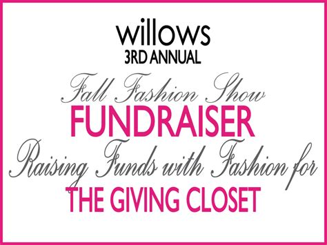 the giving closet fashion show invite wrk engineers