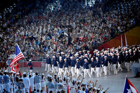 As the Olympic Games Conclude a Look Back at U.S. Opening Ceremony Outfits | Arts u0026 Culture ...