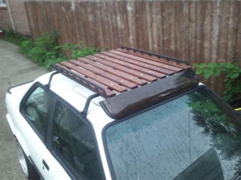diy roof rack wooden roof rack diy step stool woodworking plans