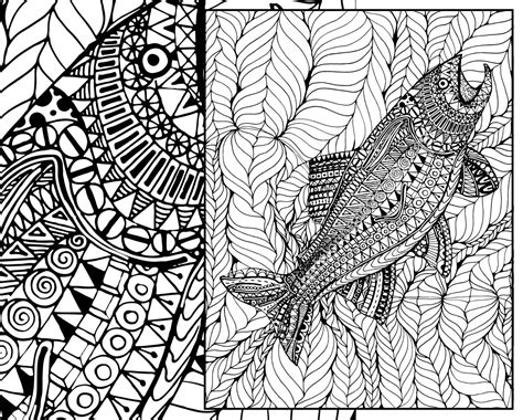 Batik Coloring Page