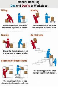 Manual Handling Dos And Don U2019ts At Workplace  U2013 Infographic