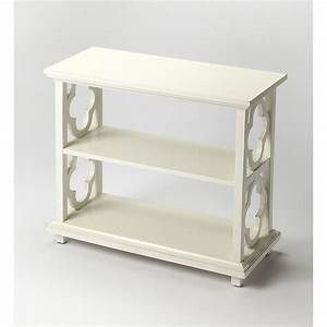 Butler, Masterpiece, Paloma, Open, Back, Bookcase, -, Cottage, White