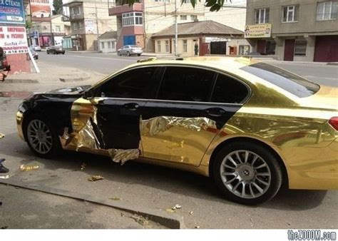 fake gold car bling fail cars pinterest cars and