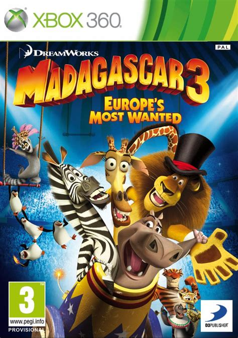 All Gaming Download Madagascar 3 The Video Game Xbox 360