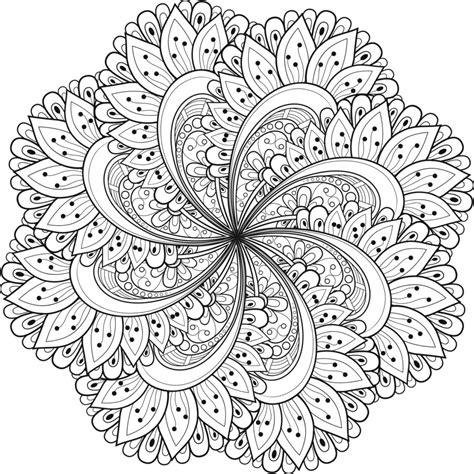 M繝筍ndalas Para Colorear Dibujos Mandalas Para Imprimir