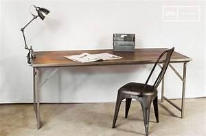 Table Pliante Metal : table bois m tal pliante tr my mobilier design ~ Teatrodelosmanantiales.com Idées de Décoration
